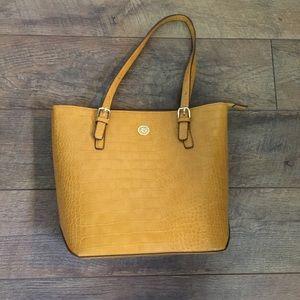 NWOT Anne Klein alligator texturized handbag